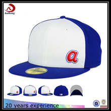 wholesale flat brim 3d letters embroidery korean polyester snapback hat makers