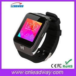 Bluetooth 3.0 Smart Watch for IOS and Android with 1.54 inch touch screen MTK6260A Smartwatch phone T2