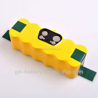 Vacuum cleaner Battery for Roomba 500/600/700/800,14.4V Ni-Mh battery,robits cleaner battery