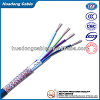 2 pair telephone cable with PVC Jacket 0.5mm Bare Conductor