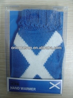 classic knitted hand warmer cover