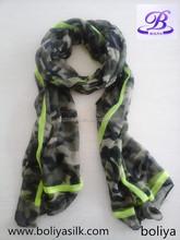 Fashion Cool high quality printed military scarf