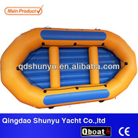CE persons 12ft 1.8mm pvc inflatable raft for sale