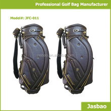 Custom Leather Golf Cart Bags Factory
