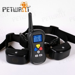 Racing dog collar/CE electronic vibrate and shock collar for dogs