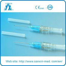 Painless Types Of IV Cannula tube IV Catheter 24g