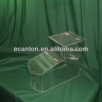 Clear acrylic bulk food bin wholesale