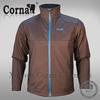 High breathability light weight collar climbing men jacket winter