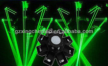 stage dj Effects octopus 8 Claws UFO Programmable Laser Light Show/led laser projector