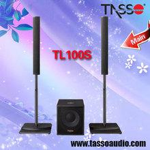 altavoz pequeño sistema de sonido de la columna para la mini etapa del concierto