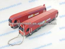 1gb/2gb/4gb/8gb 3D train shape custom memory stick