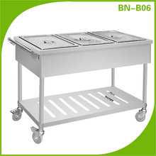 Hotel supplies electric bain marie food warmer catering food warmer