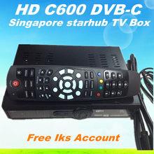 hd-c600 singapur starhub cable receptor de tv caja negro hd libre c600 iks cuenta de apoyo de alta definición canales