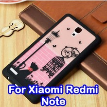 Many Styles Available Graphical Phone Case Cover For Xiaomi Redmi Note