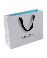 Best quality custom made paper bags with handle for garments