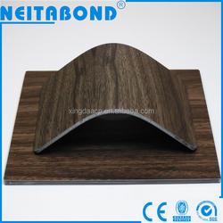teak/walnut wood aluminum composite panel/ACP/ACM for interior wall