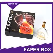 Single 5 Liter Bottle Carton Wine Packaging Box/Custom Gift Cardboard Paper Wine Box
