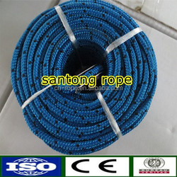 Diamond Braided Nylon Blue With Black Tracer Anchor Line