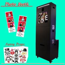 Digital Photo Booth máquina expendedora ventas con alta tecnología