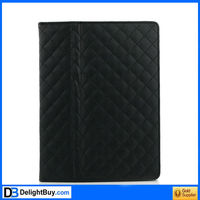 black sheep Folio Magnetic Smart cover Leather Case for iPad 2 Black