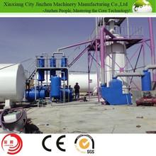 Engine Oil Regeneration Machine by Vacuum Distillation plant/automatically continuous crude oil/black oil distillation