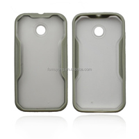 personalized cell phone cases with Silicon gel PC Slide Frame Case for Moto E