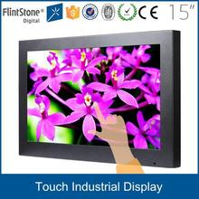 FlintStone 19 inch widescreen touch screen monitor / 2 points touch screen / VGA interface