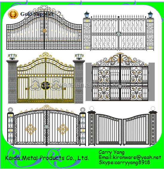 Decorative Iron Gates Designs