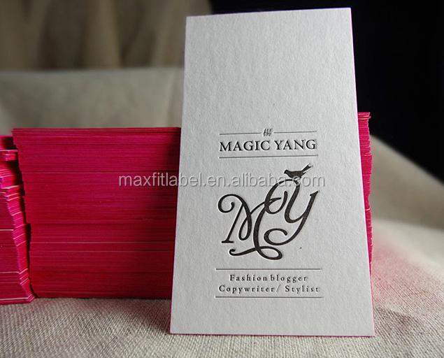 Cotton paper gold edge letterpress business cards printing buy bceh6qul706b23kp5g colourmoves