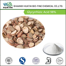 natural sweetener radix glycyrrhizae extract glycyrrhizic acid 98% powder 1405-86-3