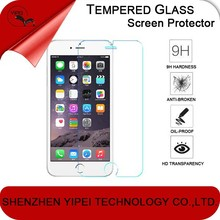 Ultra thin 9H Hardness 2.5D Round Edge Tempered Glass Film For iPhone 6 6 plus 5 5c 5s 5c glass screen protector for iphone 6
