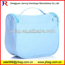 Household Clutch Polyester Toiletry Bags zipper Closure