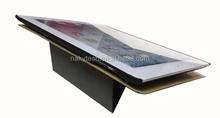 Cowboy Denim Jean + PU+pc Flip Wallet Case Stand For iPad 5/6
