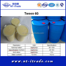 Factory Direct Supply---Non-Ionic Emulsifier Cosmetic Grade Tween 60