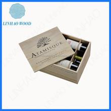 China Supply Handmade Wooden Wine Crate, Custom Wooden Wine Box, Cheap Wooden Wine Holder