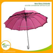 lace pink pretty ladies umbrella