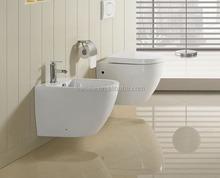 Western standard bathroom wall hang toilet/wall hung wc/china supplier(BSJ-T065)