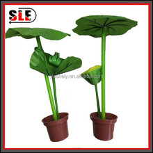 2015 hot sale high quality cheap lotus flower pot ball pen