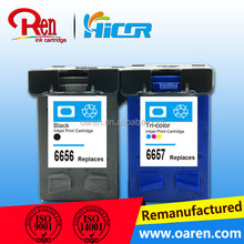 recycled ink cartridge for hp 56 empty ink cartridge for hp 6656