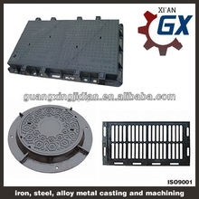 Casting Manhole Cover,Cast iron manhole cover with frame low price for sale