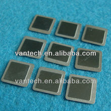 half etching metal item convex concave indentation SMD lids