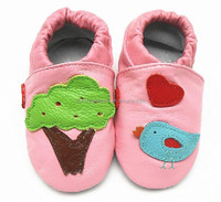 2015 fashion baby summer Spanish leather shoes