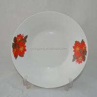 enamel ceramic camping plates,wholesale dinnerware cheap white china plates