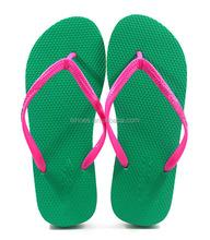 Design de moda mulheres custom made flip flops atacado