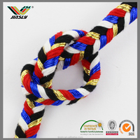 Factory direct custom paper rope durable decorative twisted cord change cords