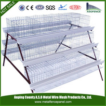 China manufacture automatic durable A type H type wooden chicken house (factory)
