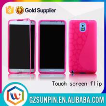 Tpu slim back cover case for samsung galaxy note n7000 i9220