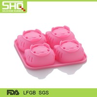 Hello Kitty silicone cake pink mold