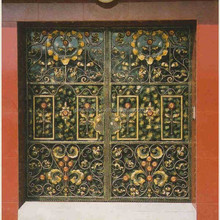 china modern pictures for homes wrought iron exterior doors price