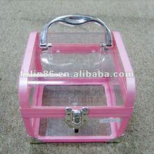 Fashion transparent plastic box